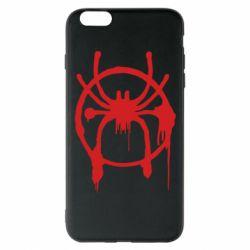 Чохол для iPhone 6 Plus/6S Plus Graffiti Spider Man Logo