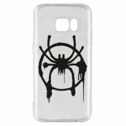 Чохол для Samsung S7 Graffiti Spider Man Logo
