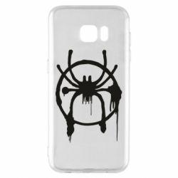 Чохол для Samsung S7 EDGE Graffiti Spider Man Logo