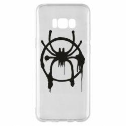 Чохол для Samsung S8+ Graffiti Spider Man Logo