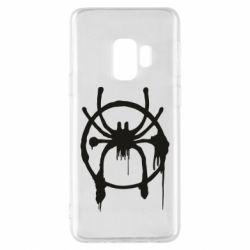 Чохол для Samsung S9 Graffiti Spider Man Logo