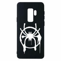 Чохол для Samsung S9+ Graffiti Spider Man Logo