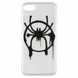 Чохол для iPhone 8 Graffiti Spider Man Logo