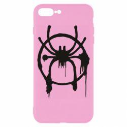 Чохол для iPhone 8 Plus Graffiti Spider Man Logo