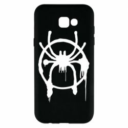 Чохол для Samsung A7 2017 Graffiti Spider Man Logo