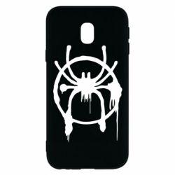 Чохол для Samsung J3 2017 Graffiti Spider Man Logo