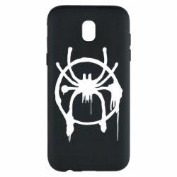 Чохол для Samsung J5 2017 Graffiti Spider Man Logo