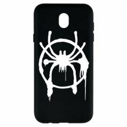 Чохол для Samsung J7 2017 Graffiti Spider Man Logo