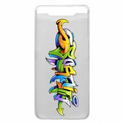 Чохол для Samsung A80 Graffiti style