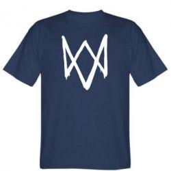 Мужская футболка Graffiti Watch Dogs logo