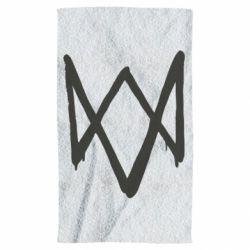 Полотенце Graffiti Watch Dogs logo