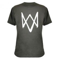 Камуфляжная футболка Graffiti Watch Dogs logo