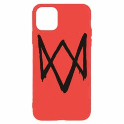 Чехол для iPhone 11 Pro Graffiti Watch Dogs logo