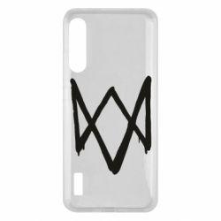 Чохол для Xiaomi Mi A3 Graffiti Watch Dogs logo