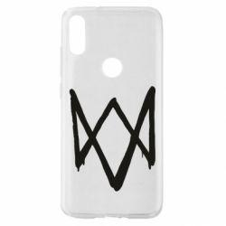 Чехол для Xiaomi Mi Play Graffiti Watch Dogs logo