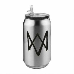 Термобанка 350ml Graffiti Watch Dogs logo