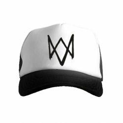 Детская кепка-тракер Graffiti Watch Dogs logo
