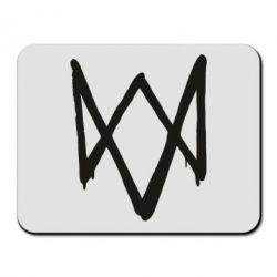 Коврик для мыши Graffiti Watch Dogs logo