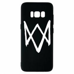 Чехол для Samsung S8 Graffiti Watch Dogs logo