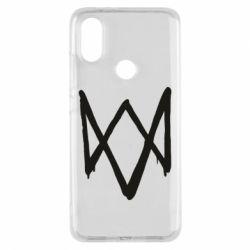 Чехол для Xiaomi Mi A2 Graffiti Watch Dogs logo