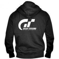 Мужская толстовка на молнии Gran Turismo - FatLine