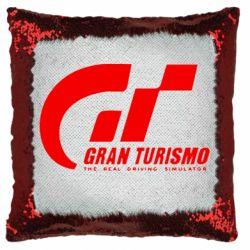 Подушка-хамелеон Gran Turismo