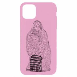 Чехол для iPhone 11 Pro Max Grandmother with bag