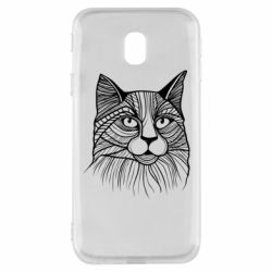 Чохол для Samsung J3 2017 Graphic cat