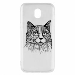 Чохол для Samsung J5 2017 Graphic cat