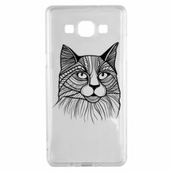 Чохол для Samsung A5 2015 Graphic cat