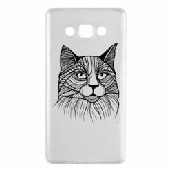 Чохол для Samsung A7 2015 Graphic cat