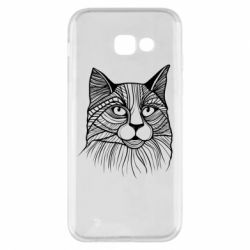 Чохол для Samsung A5 2017 Graphic cat