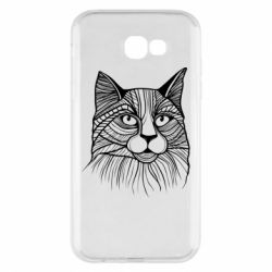Чохол для Samsung A7 2017 Graphic cat