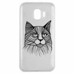 Чохол для Samsung J2 2018 Graphic cat
