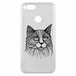 Чохол для Xiaomi Mi A1 Graphic cat