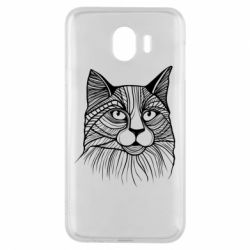 Чохол для Samsung J4 Graphic cat