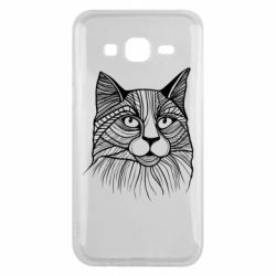 Чохол для Samsung J5 2015 Graphic cat