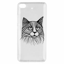 Чохол для Xiaomi Mi 5s Graphic cat