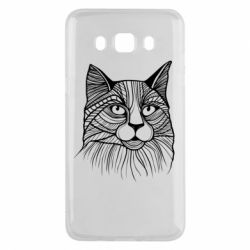 Чохол для Samsung J5 2016 Graphic cat