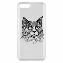 Чохол для Xiaomi Mi6 Graphic cat