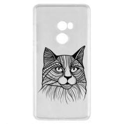 Чохол для Xiaomi Mi Mix 2 Graphic cat