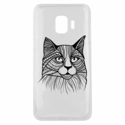 Чохол для Samsung J2 Core Graphic cat
