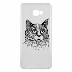Чохол для Samsung J4 Plus 2018 Graphic cat