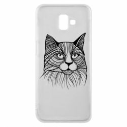 Чохол для Samsung J6 Plus 2018 Graphic cat