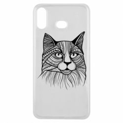 Чохол для Samsung A6s Graphic cat