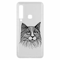 Чохол для Samsung A9 2018 Graphic cat