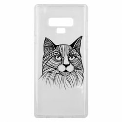 Чохол для Samsung Note 9 Graphic cat