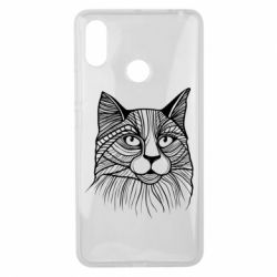 Чохол для Xiaomi Mi Max 3 Graphic cat
