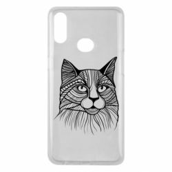 Чохол для Samsung A10s Graphic cat