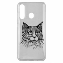 Чохол для Samsung M40 Graphic cat